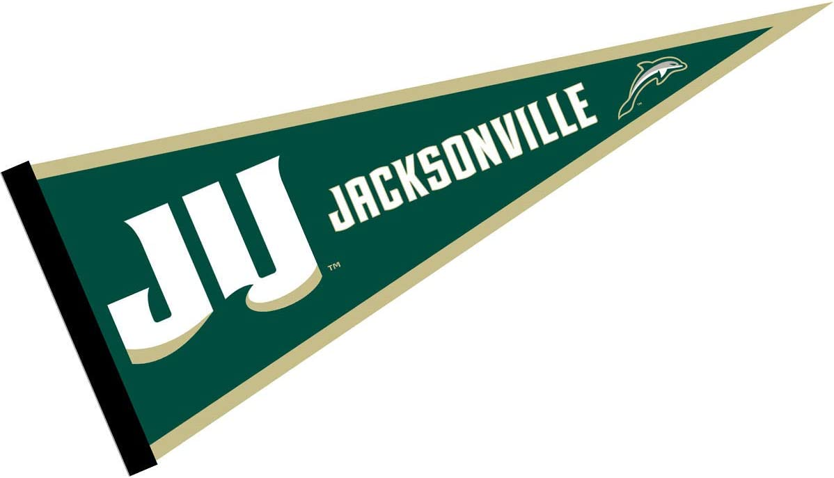 Jacksonville Dolphins Pennant College Flags and Banners Co