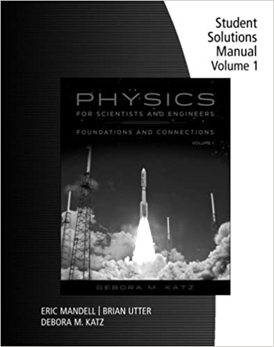 Student solutions manual for katzs physics for scientists and student solutions manual for katzs physics for scientists and engineers foundations and connections volume 1 1st edition fandeluxe Gallery