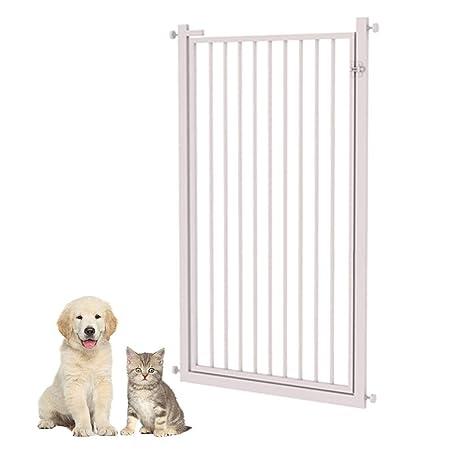 Puertas de bebé Puerta para Perros Extra Ancha con Puerta ...