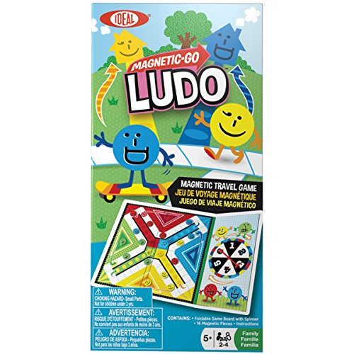 Ideal Magnetic Ludo Travel Game
