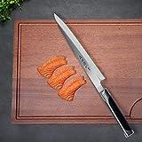 Sushi Knife 10 Inches, Professional Single Blade