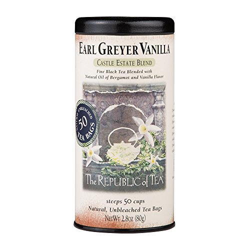 The Republic Of Tea Earl Greyer Vanilla, 50 Tea Bags