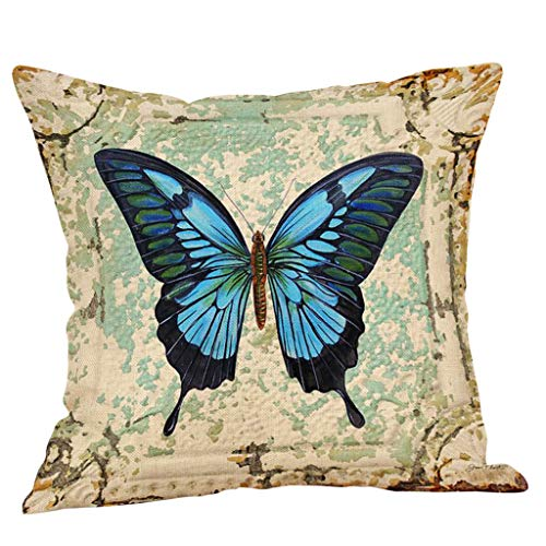 AOJIAN Home Decor Cushion Cover, Vintage Colorful Decorative Throw Pillow Covers Protectors Bolster Case Pillowslip
