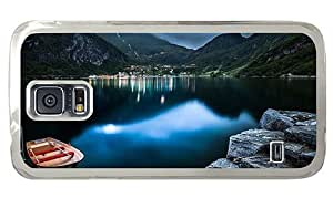 Hipster grove Samsung Galaxy S5 Case geiranger lake norway PC Transparent for Samsung S5