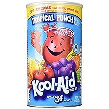 Kool Aid Tropical Punch (5 lbs, Makes 34 Quarts)