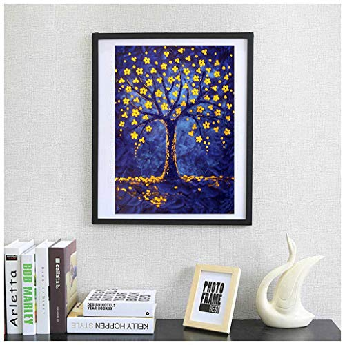 ANBR Diamond Painting Goblet Tree Embroidery Art Kits 30x40cm 11.8x15.7 inch (D)