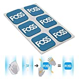 AVOLUTION FOSS Bicycle Tire Patches, Tyre Repair Inner Tube MTB Road Bike Dedicated Quick Fix Self-Adhesive Tool Blue
