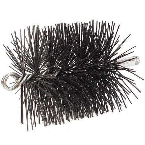 10'' Round Pro-Sweep Medium Duty (Poly) Chimney Brush - Poly Round Chimney Brush