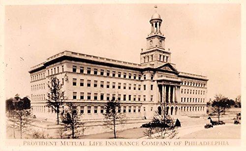 Provident Mutual Life Insurance Company Philadelphia, Pennsylvania postcard