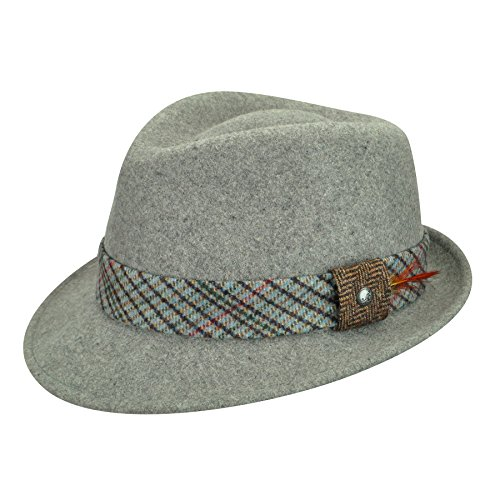 Kangol Female, Male Estate Arnold Flannel (Arnold Trilby)