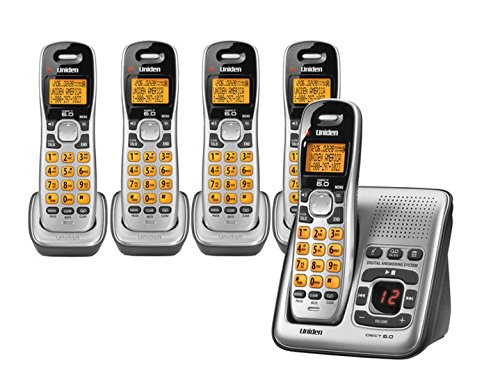Uniden D1484 5 DECT 6 0 Cordless Phone with 5 Handsets