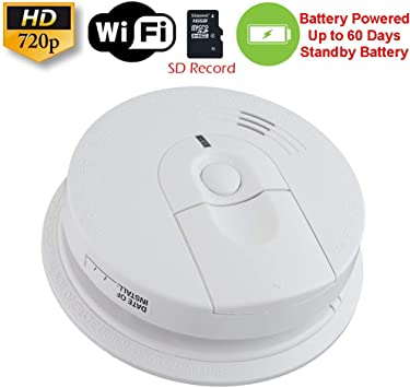 Amazon Com Secureguard 60 Day Battery Powered Wifi Smoke Detector