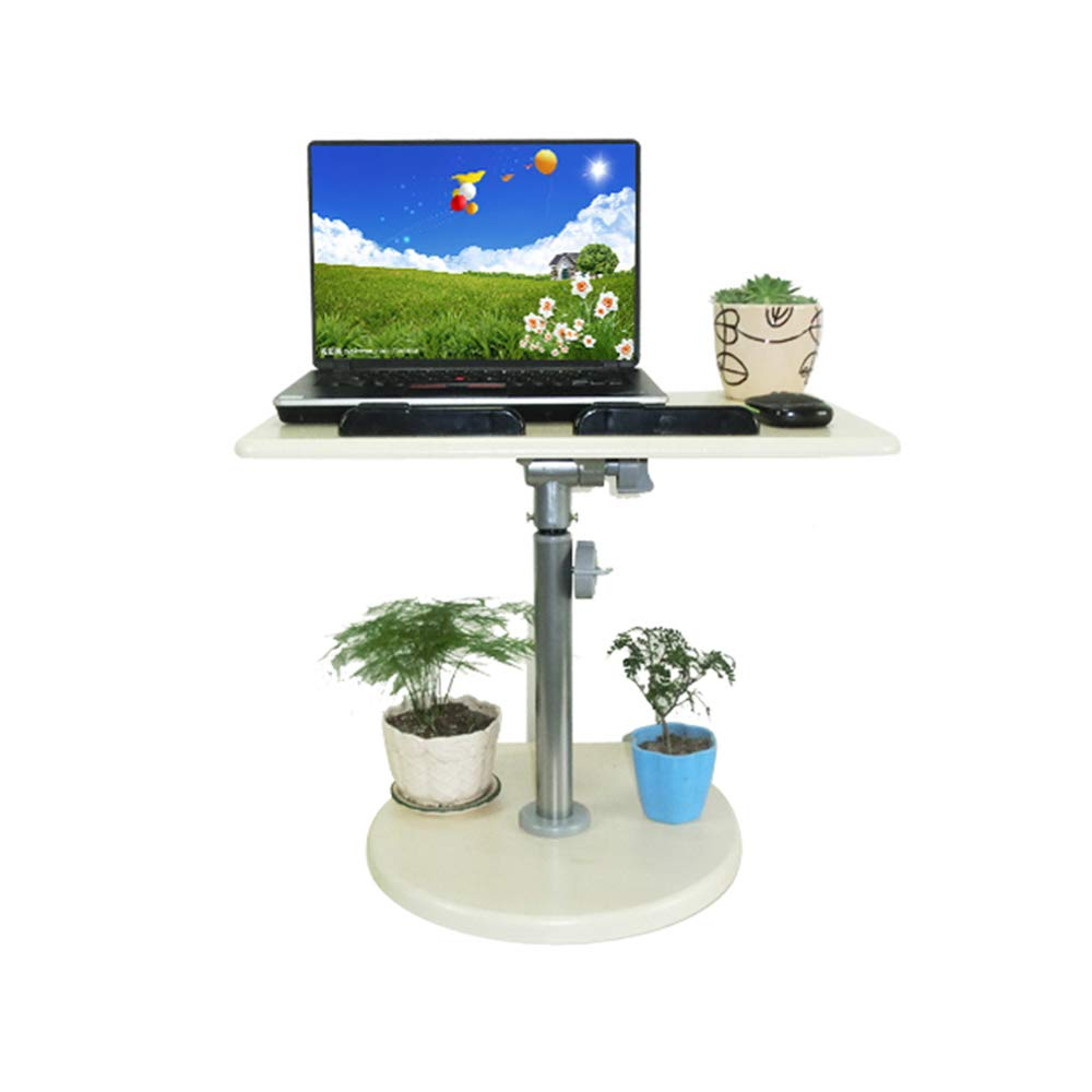 LS-Office Equipment Laptop Computer Desk - Stand-up Office Table Standing Dual-use Window Window Table Lifting Bracket The Table is Standing Above The Desk Optional Size /&