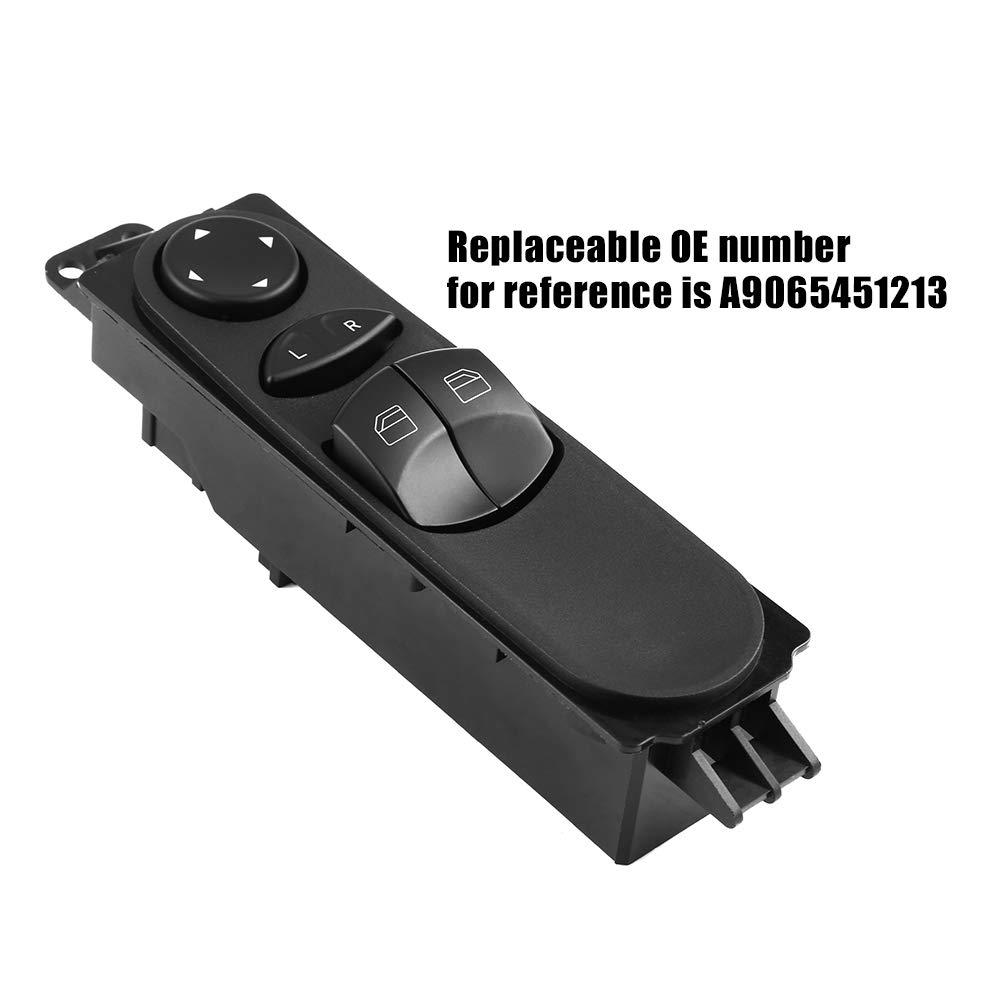 Commutateur Interrupteur de commande de fen/être pour Mercedes Sprinter W906 A9065451213