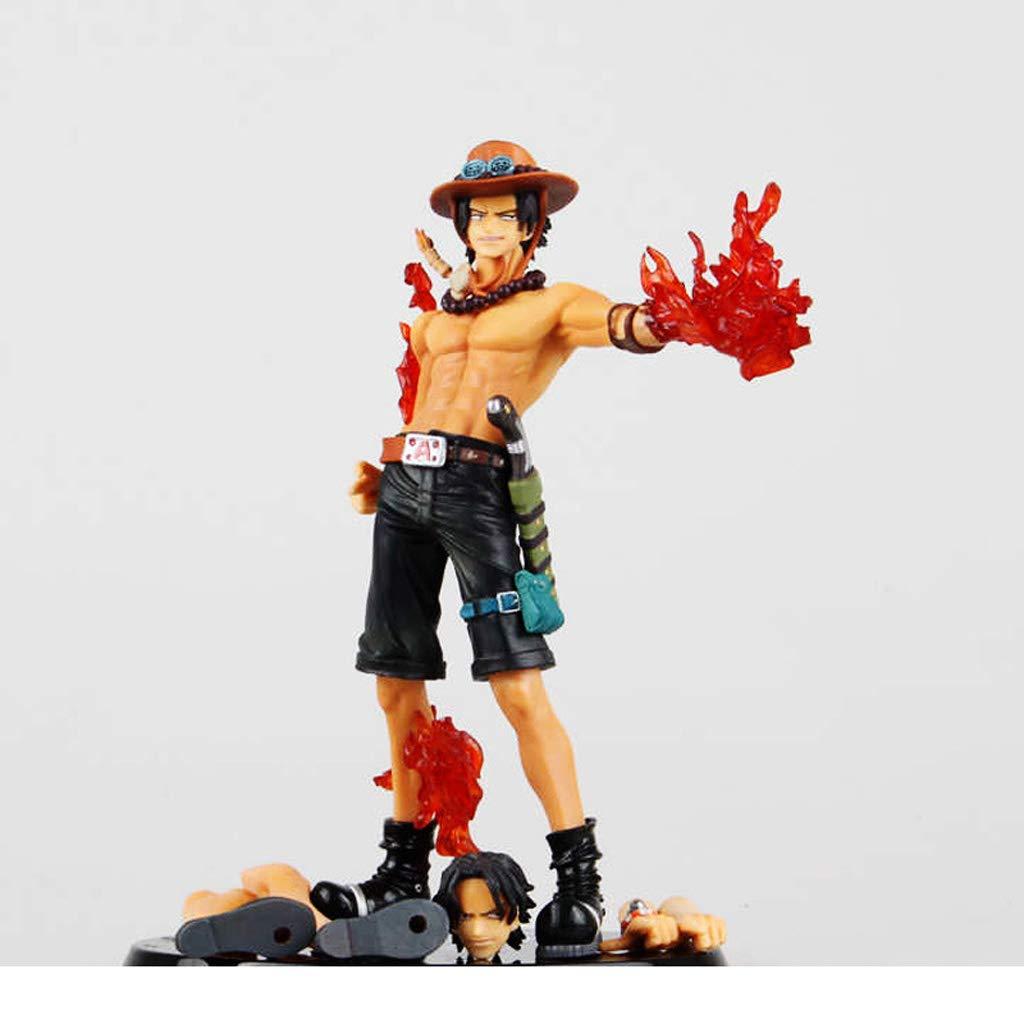 descuento de ventas en línea SYFO Estatua De Juguete Una Pieza Pieza Pieza Modelo De Juguete Colección De Personajes De Dibujos Animados Recuerdo Puño De Fuego Ace 17CM Modelo Anime  gran venta