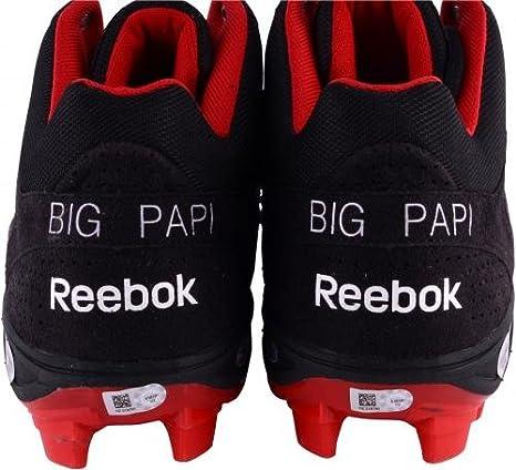 7595056f36821f David Ortiz Boston Red Sox Autographed Game-Used Reebok Black