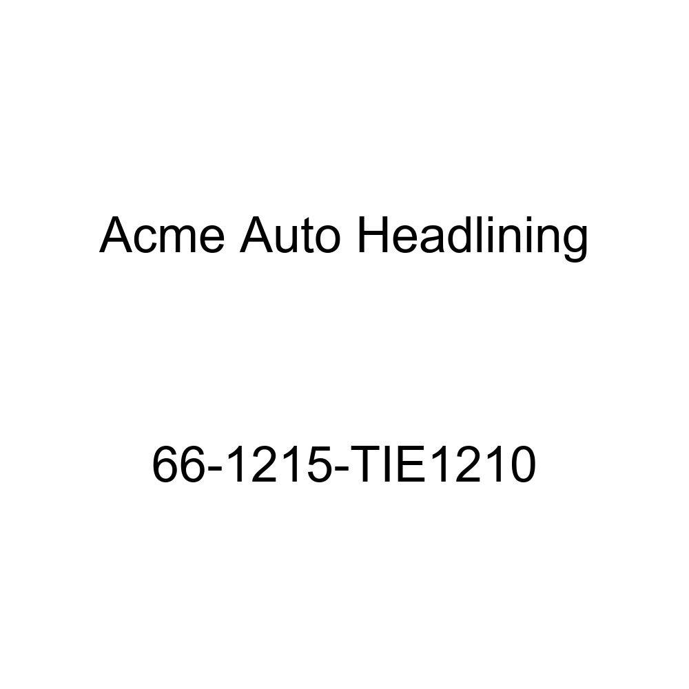 Oldsmobile 98 4 Door Sedan 6 Bows Acme Auto Headlining 66-1215-TIE1210 Maroon Replacement Headliner