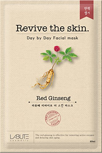 LABUTE Revive The Skin Mask Sheet (RED Ginseng mask sheet (10EA))