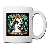 White Hysteria Def Leppard Sab04Fl Ceramic Mug Cup 11oz Unisex Printed On Both Sides
