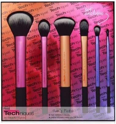 Real Techniques Real Technique Sam's Picks Makeup Brush Set Rt-1415(Pack Of 6)