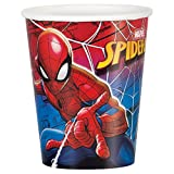 Unique 59226 9 oz Spiderman Party Cups, 8 Count