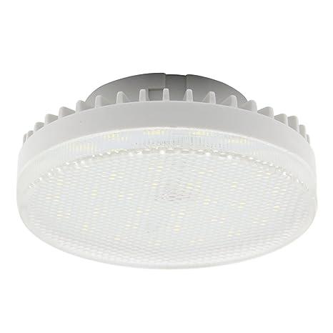 GX53 bombilla LED 7 W LED lamps 33 SMD 2835leds blanco cálido 3000 K/blanco