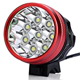 12000LM 8x CREE XM-L T6 LED Cycling Bicycle Bike Head Light Lamp Headlight ...