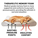 Furhaven Pet Dog Bed | Memory Foam Micro Velvet