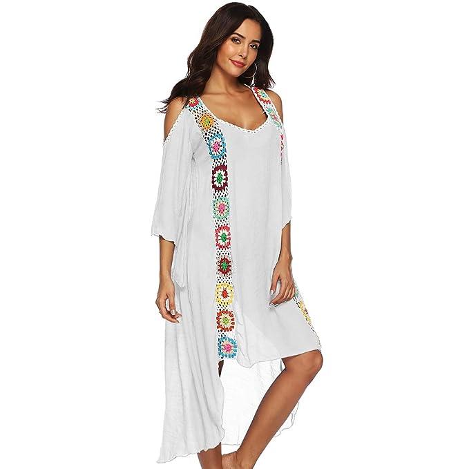 ef269554c6db Tacobear Mujer Pareos Playa Traje de Baño Verano Vestido de Playa ...