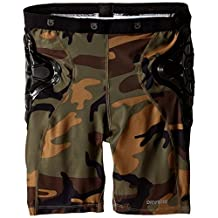Youth Total Impact Short, Protected By G-Form™, Highland Camo, Large