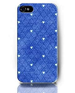 UKASE Cases Skins of Cute Pattern for Apple iPhone 5/5S with the Design of Blue Diamond-Shaped Pattern