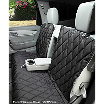 Dog Seat Cover Without Hammock For Fold Down REAR BENCH SEAT 60 40 Split And