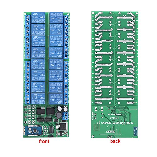 DC 12V 16 Channel Bluetooth Relay Board Wireless Remote Control Switch for Android Phone by Walfront (Image #6)