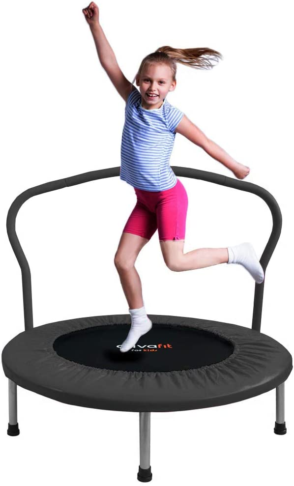 ATIVAFIT 36-Inch Folding Trampoline Mini Rebounder - The Best Indoor and Outdoor Trampoline