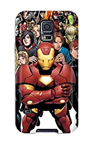 Galaxy S5 Case Cover Skin : Premium High Quality Marvel Case by lolosakes