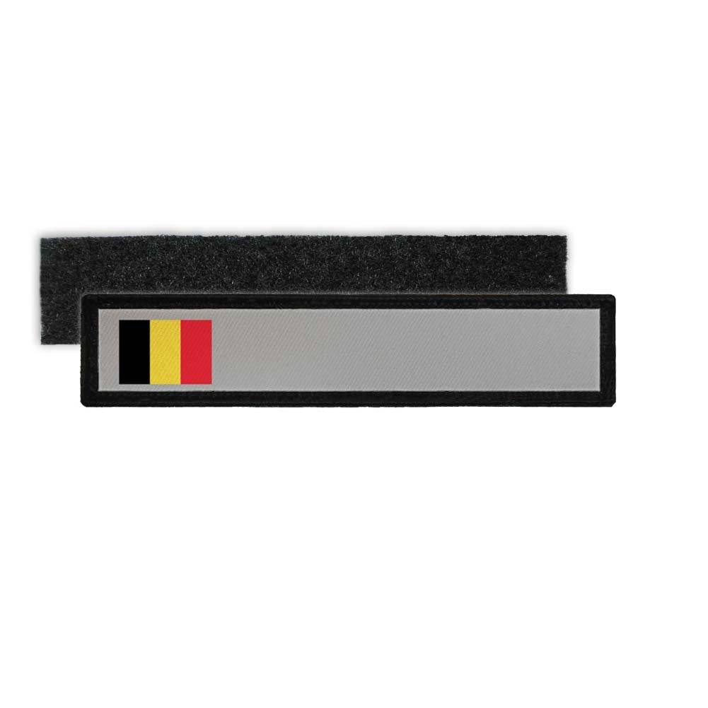 Copytec Namenspatch Belgien Belgium Flagge Patch naam Brussel Identit/ät #25200