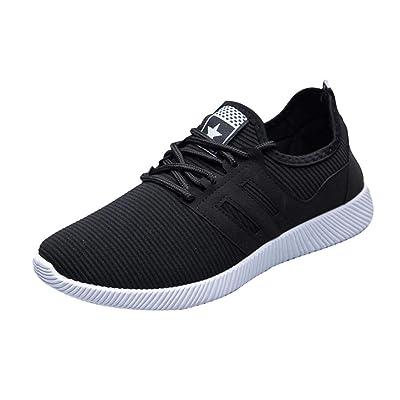 LuckyGirls Mixte Homme Chaussures de Multisports Outdoor,Chaussures de Course Sports Fitness Gym athl/étique Baskets Sneakers