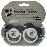 First Time Fan FTF2PKPACVAN-X Vancouver Canucks Pacifier, 2-Pack