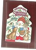 Snowman's Christmas Surprise, Lucinda McQueen, 0590480421