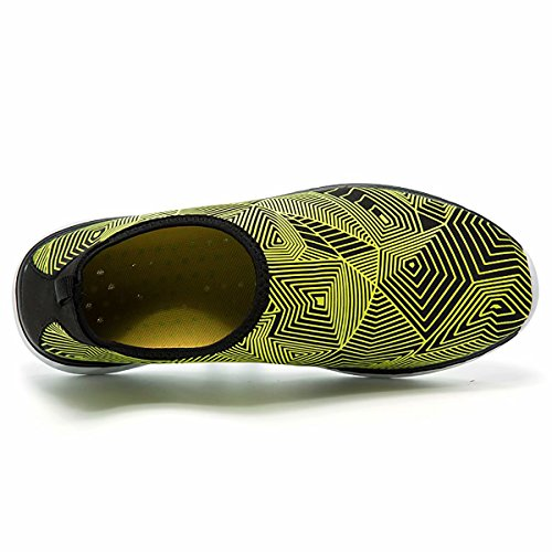 Quick Men Kimote Dry Beach Yellow Shoes Exercise Shoes for Barefoot Outdoor Yoga Socks Aqua Water Women Sports wSw04q
