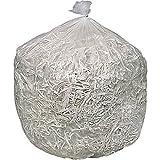 Brighton Professional 16 Micron High Density Heavy Strength Trash Bags, Clear, 33 Gallon, 250 Bags/Box (18200)