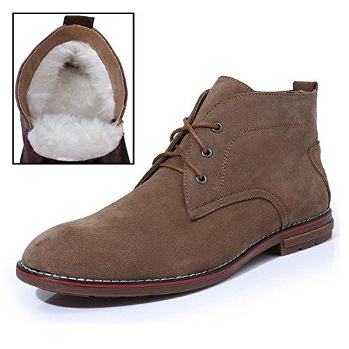 Minitoo ,  Herren Chukka Boots Fur-Lined/Light Tan