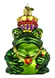 Old World Christmas Frog King Glass Blown Ornament