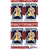 2018/2019 Panini Hoops NBA Basketball Lot of FOUR(4) EXCLUSIVE Factory Sealed Packs with 32 Cards! Loaded with RCS & INSERTS! Look for RC & Autos of Luka Doncic, Deandre Ayton, Trae & More! WOWZZER