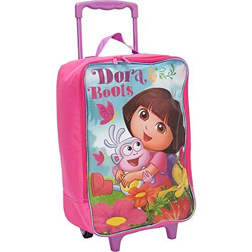 Nickelodeon Dora the Explorer Suitcase Rolling Luggage Large Pilot Case