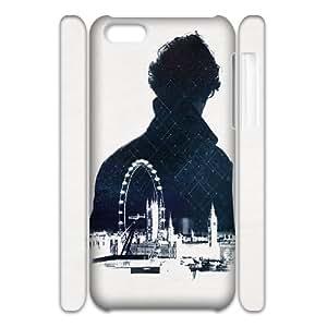 Newest Diy Sherlock phone iphone 4/4s iphone 4/4s 3D Cover Case UN030451