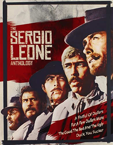 Sergio Leone Anthology, The Blu-ray (Man With No Name Trilogy Blu Ray)