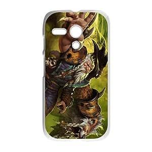 Motorola G Cell Phone Case White Defense Of The Ancients Dota 2 LONE DRUID 004 LWY3547170KSL
