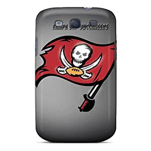 For Rewens Galaxy Protective Case, High Quality For Galaxy S3 Tampa Bay Buccaneers Skin Case Cover by supermalls