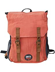 Onyx and Green Classic Backpack made of Ramie Leaf & Jute Plant Blend, Assorted Colors (7901)
